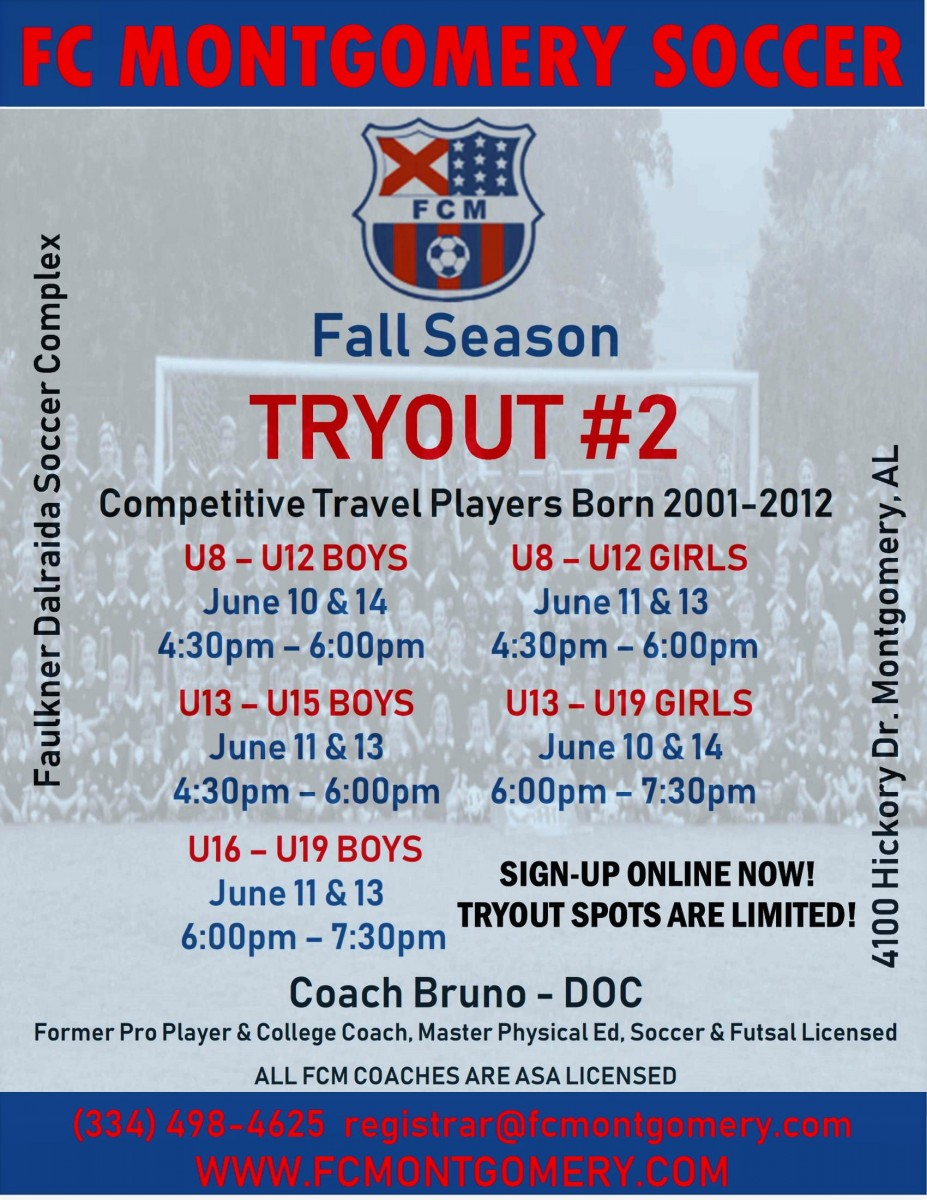 TRYOUTS!